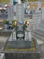 墓石総合リフォーム工事前