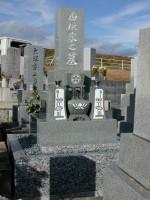 墓石総合リフォーム工事後