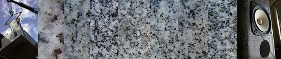 高木石材の石のスピーカー