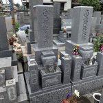 純国産墓石唐原石のお墓建立