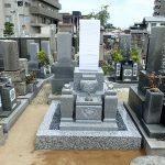 純国産墓石大島石のお墓建立