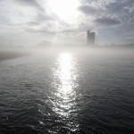 幻想的な長良川