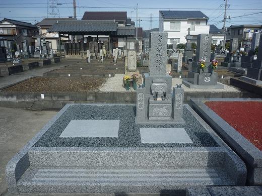 川村さま墓石建立