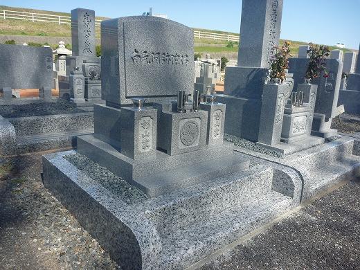 デザイン墓石 洋式のお墓