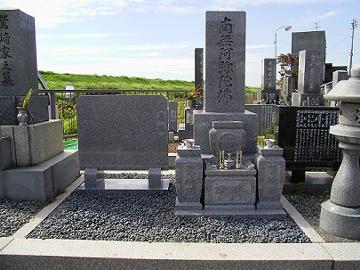 下奈良墓地での施工事例