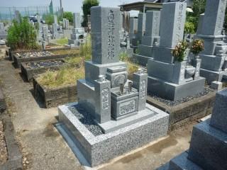 8寸2段型墓石