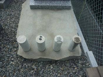 地震対策施工商品の耐久テスト 夏をこしたらウレタンゲルが溶けてしまいました