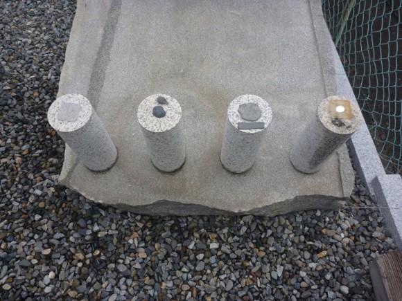 地震対策施工商品の耐久テスト