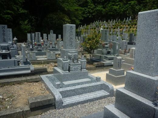庵治石のお墓