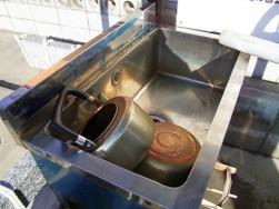 井戸水の錆
