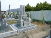 墓石建立完成写真