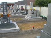 墓地確認 工事前