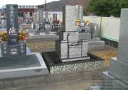 墓石の完成イメージ