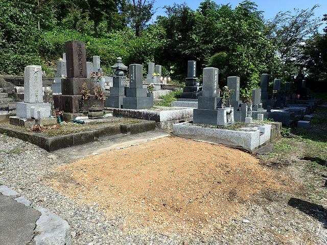 お墓の解体撤去後
