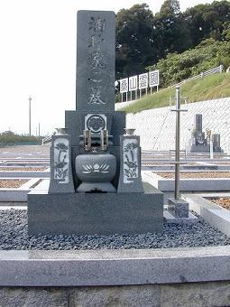 8寸 名古屋型墓石