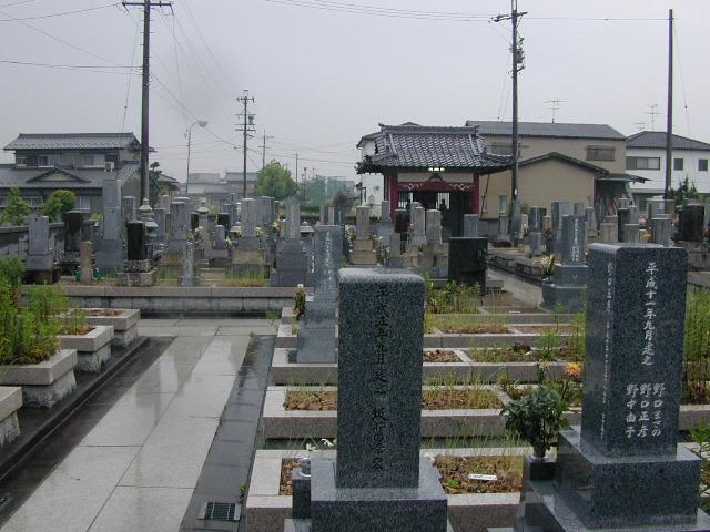 下奈良墓地