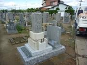 墓石リフォーム完成