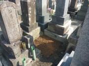お墓の撤去完了