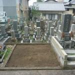 岐阜市法圓寺でお墓の移転工事開始 お墓回収しました