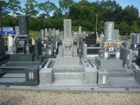 庵治石のお墓建立