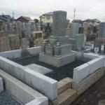 愛知県一宮市地域墓地で吉祥石のお墓の建て替え工事完成