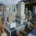 岐阜市江崎共同霊園墓地でお墓リフォーム完成