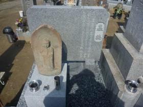 お地蔵様と墓誌