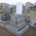 三重県鈴鹿市岡田の地域墓地で九寸のお墓建立