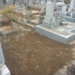 岐阜市市営上加納墓地でお墓の解体撤去工事をしました