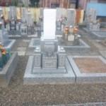 岐阜市塩谷墓地で純国産墓石 唐原石のお墓建立しました