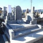 不破郡垂井町府中護国霊園で純国産墓石天山石のお墓建立しました