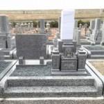 岐阜市鏡島弘法乙津寺墓地で純国産墓石 庵治細目石のお墓建立しました