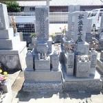 純国産墓石唐原石のお墓
