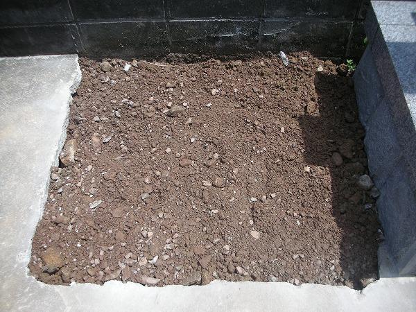 墓石の解体撤去工事後