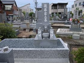 お墓移転完成1