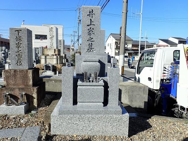 お墓の完成