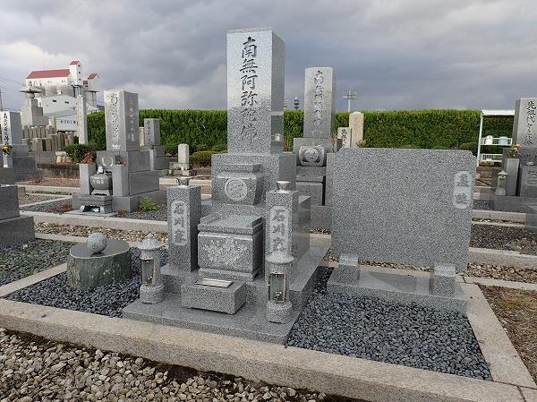 純国産墓石大島石のお墓が完成しました
