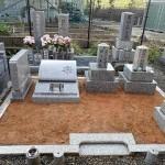 純国産墓石北木石のデザイン墓石
