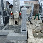 15cmあれば墓誌が建てられます