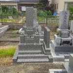 お墓の合成写真
