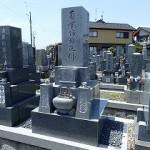 お墓の移転工事完成