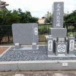 墓誌建立とお墓リフォーム完成