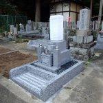 ポルトガル石のお墓建立
