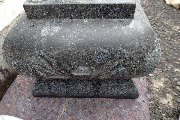 ロウソクのシミで汚れた前置き