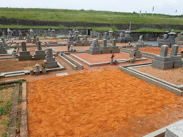 徳風会のお墓の解体撤去工事完了