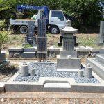 徳風会のお墓リフォーム完成