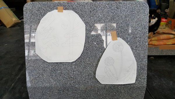 デザイン墓石の配置決定