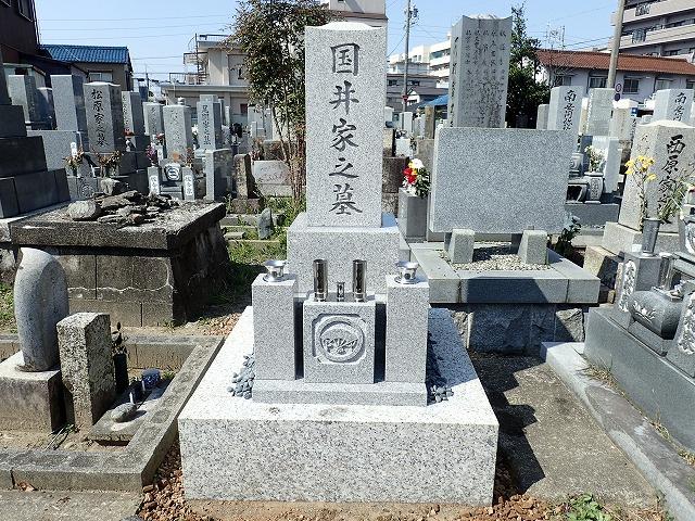 岡崎産宇寿石のお墓リフォーム完成