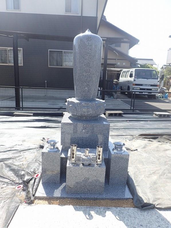 お寺様のお墓完成