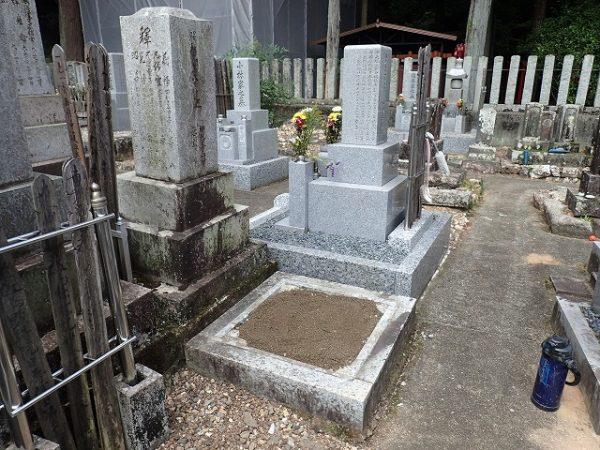お墓撤去完了